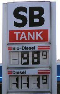 diesel vs biodiesel price